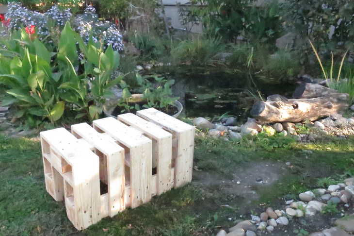 DIY-Sitzbank aus alten Paletten   Wir leben nachhaltig